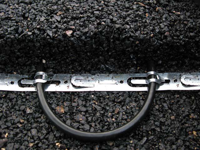 Varmekabler i asfalt